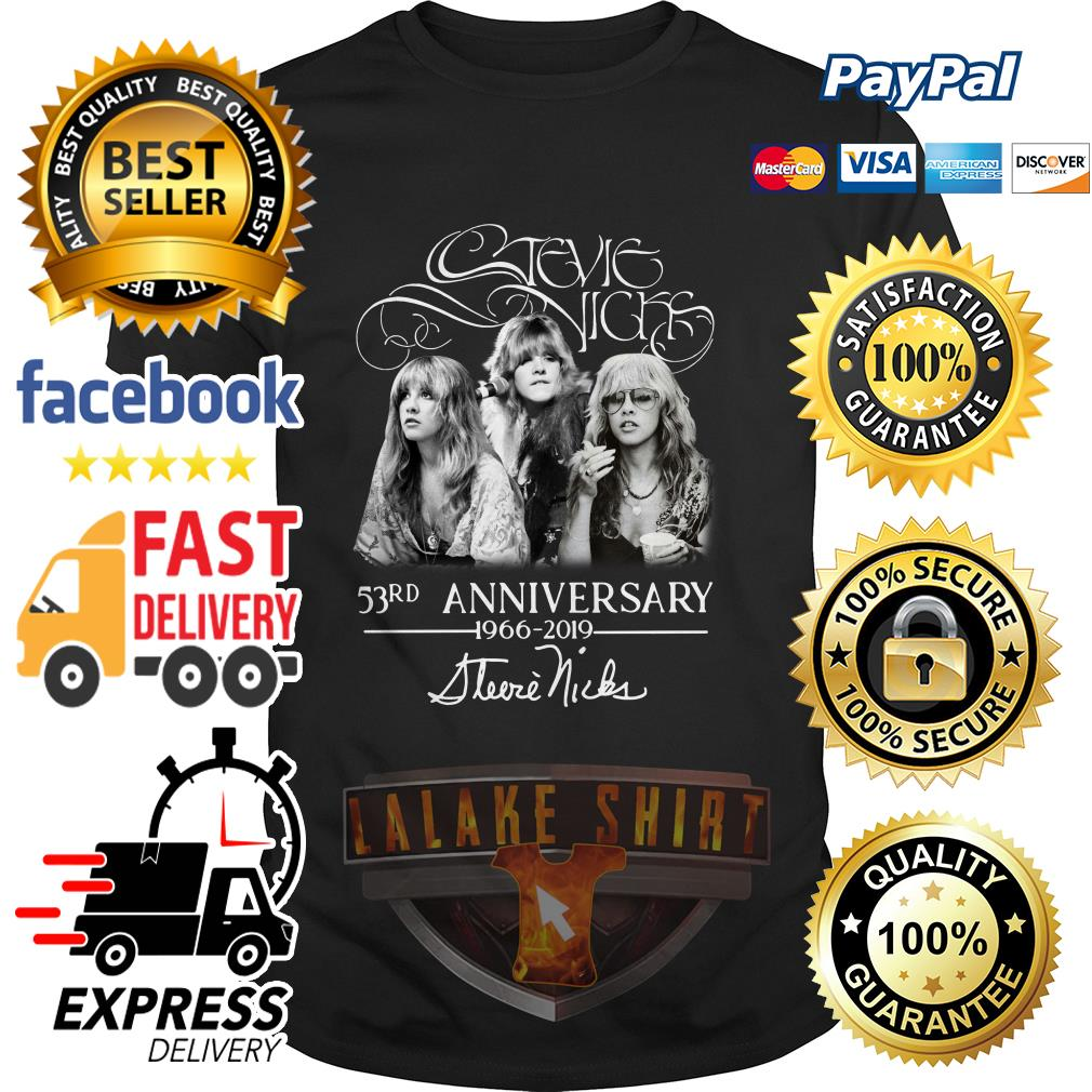 Stevie Nicks 53rd Anniversary 1966-2019 shirt