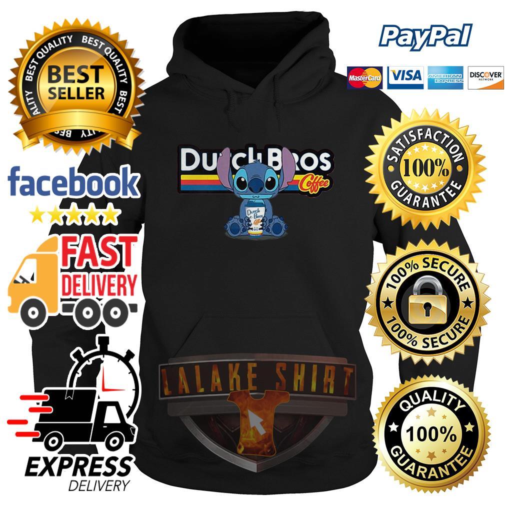 Stitch Dutch Bros coffee hoodie