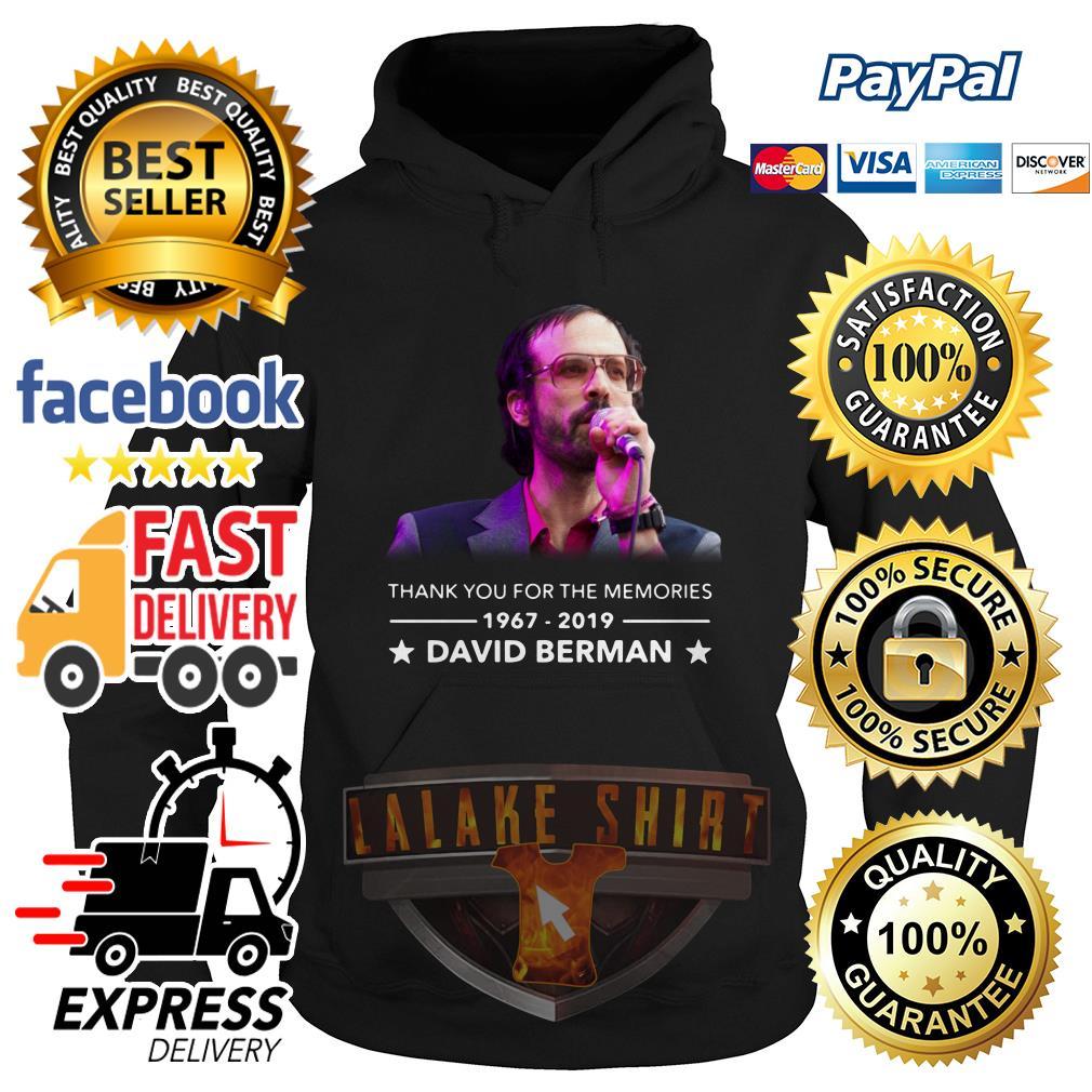 Thank you for the memories David Berman hoodie