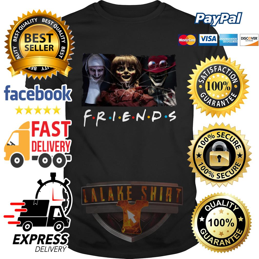 The Conjuring Friends tv show shirt