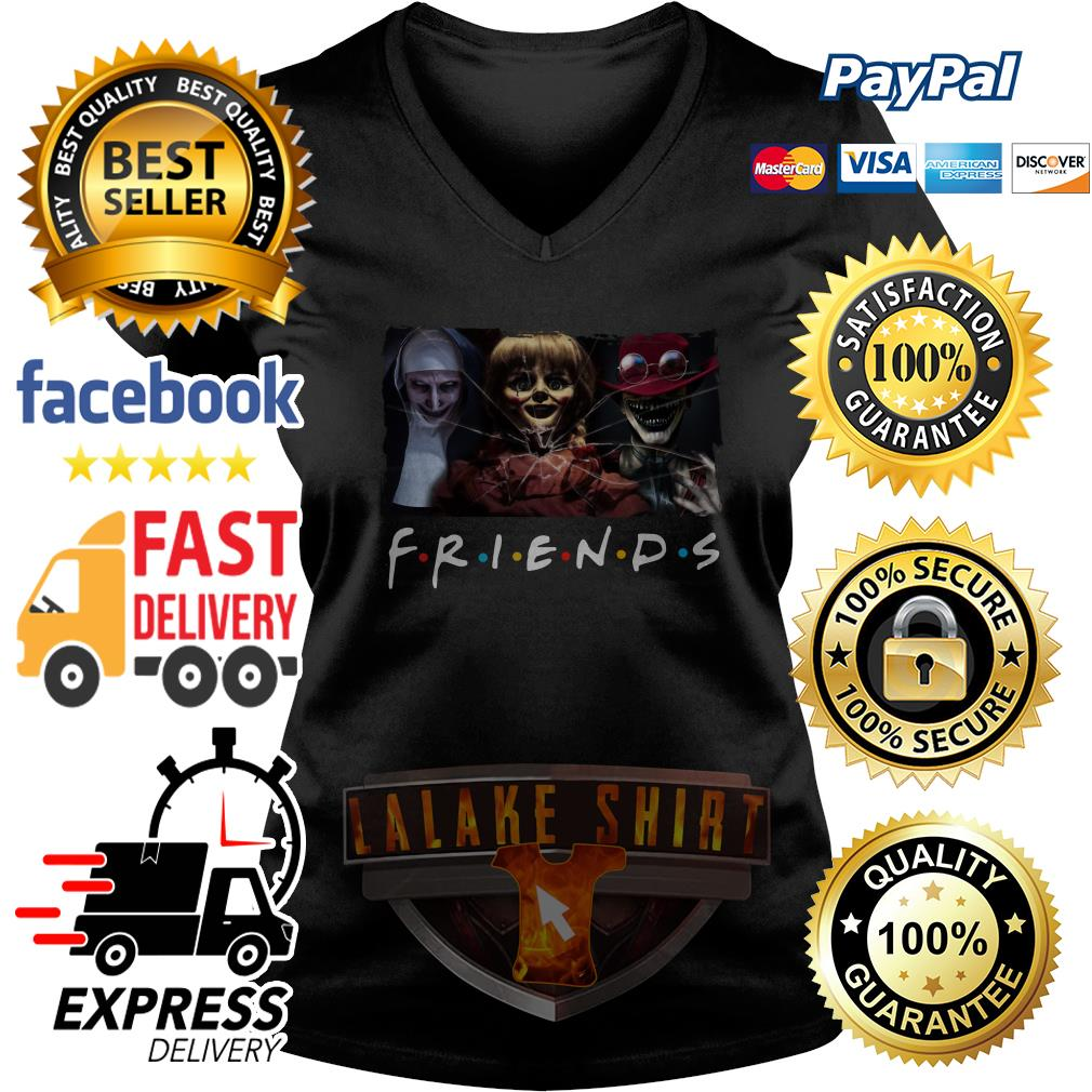 The Conjuring Friends tv show V neck T-shirt
