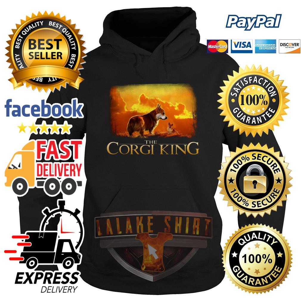 The Corgi King The Lion King hoodie