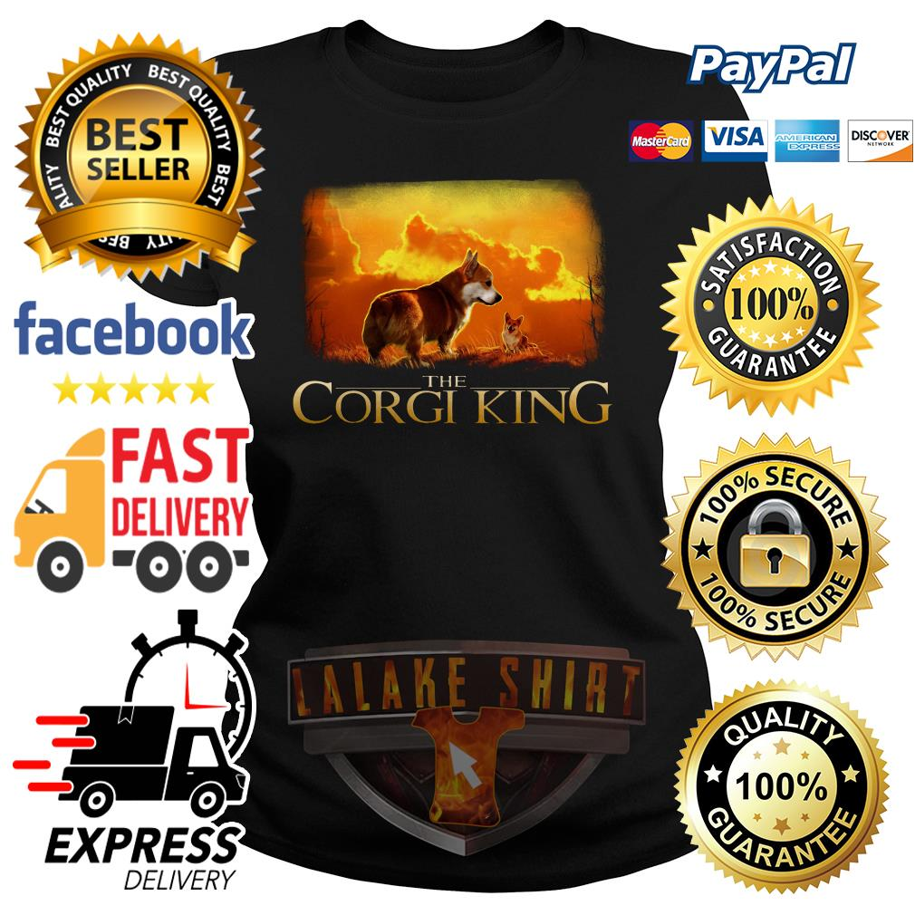 The Corgi King The Lion King ladies tee