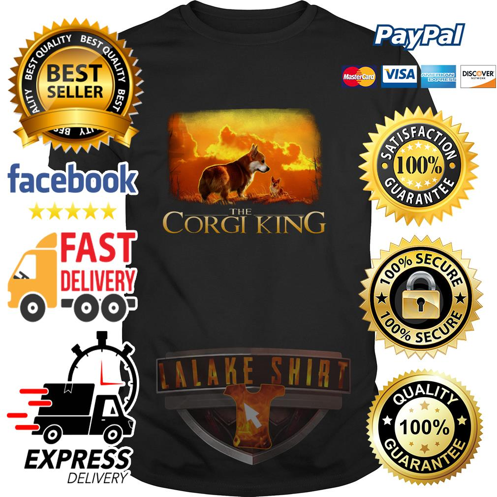 The Corgi King The Lion King shirt