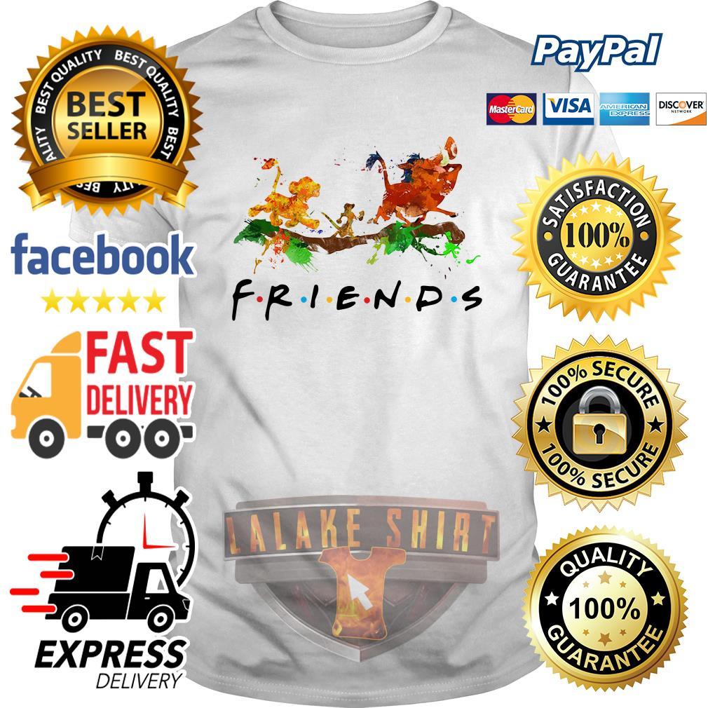 The Lion King Simba Timon Pumbaa friends shirt