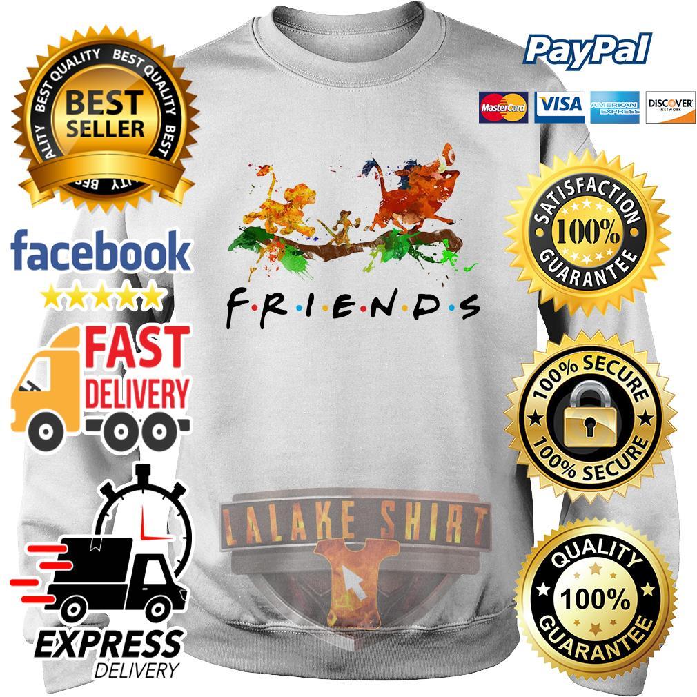 The Lion King Simba Timon Pumbaa friends sweater