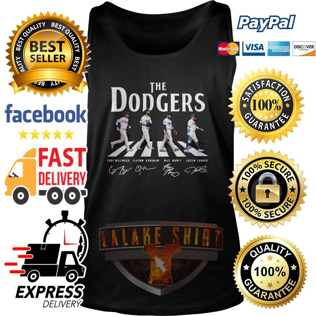 The Los Angeles Dodgers road signature tank top