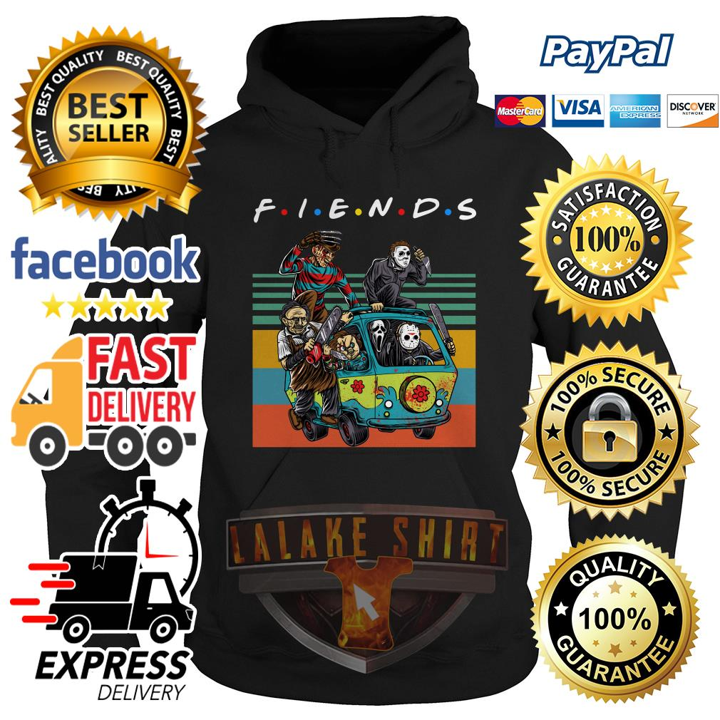 The massacre machine Halloween Horror Character movie friends hoodie