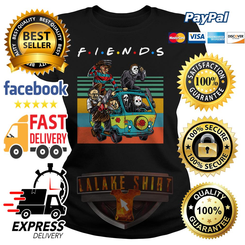 The massacre machine Halloween Horror Character movie friends ladies tee