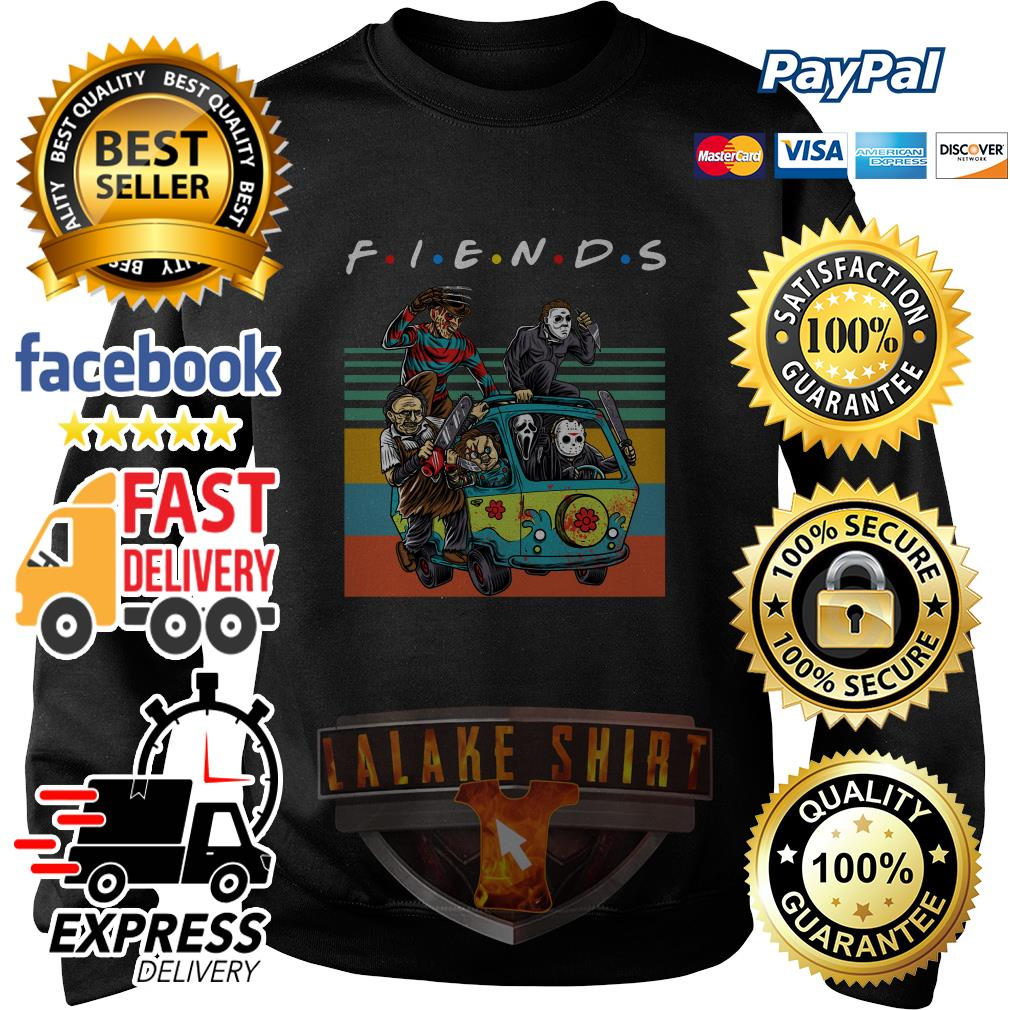 The massacre machine Halloween Horror Character movie friends sweater
