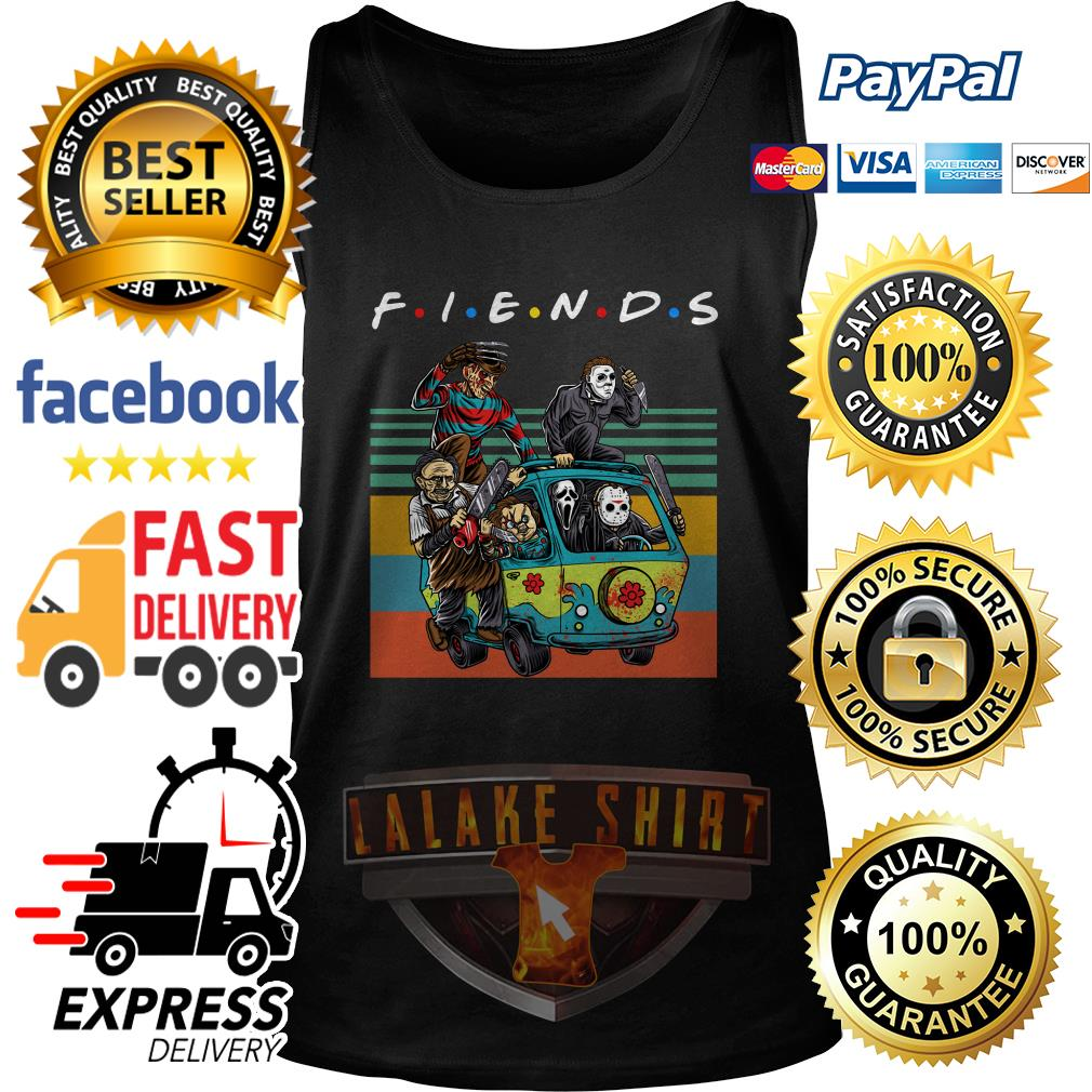 The massacre machine Halloween Horror Character movie friends tank top