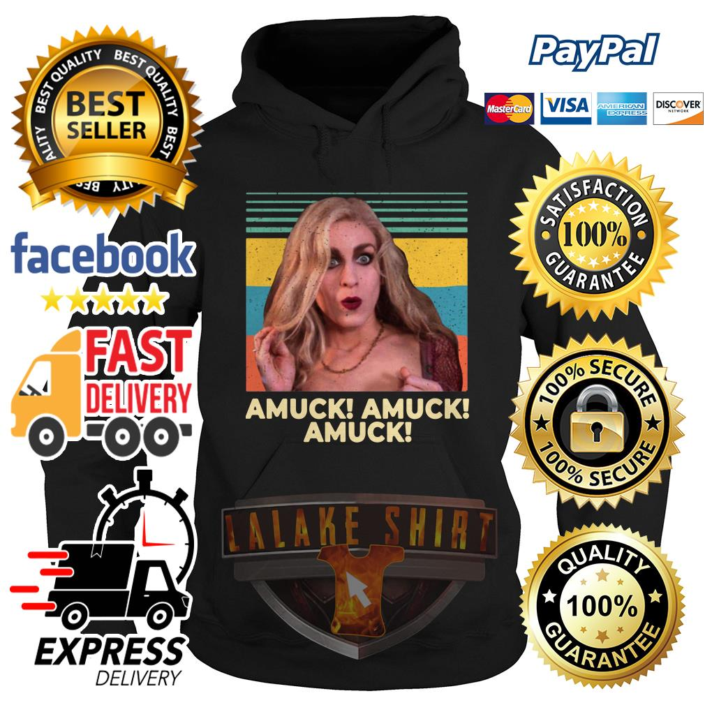 Vintage Sarah Sanderson Amuck Amuck Amuck hoodie