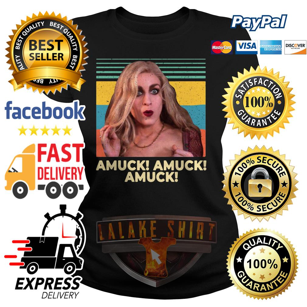 Vintage Sarah Sanderson Amuck Amuck Amuck ladies tee