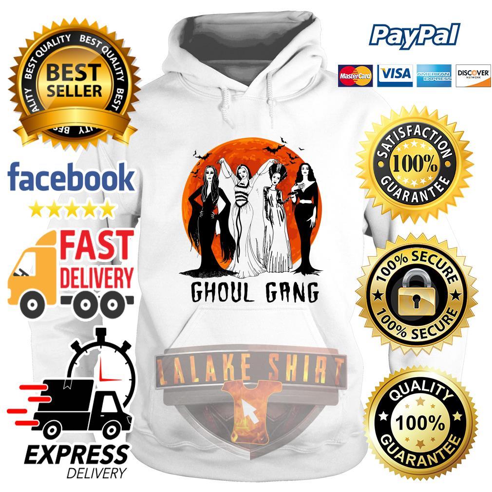 Vogue Ghoul Gang Halloween moon hoodie