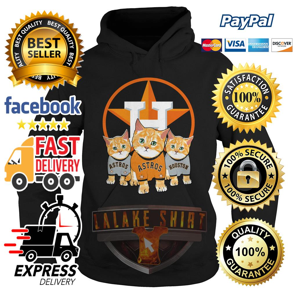Cat Houston Astros hoodie