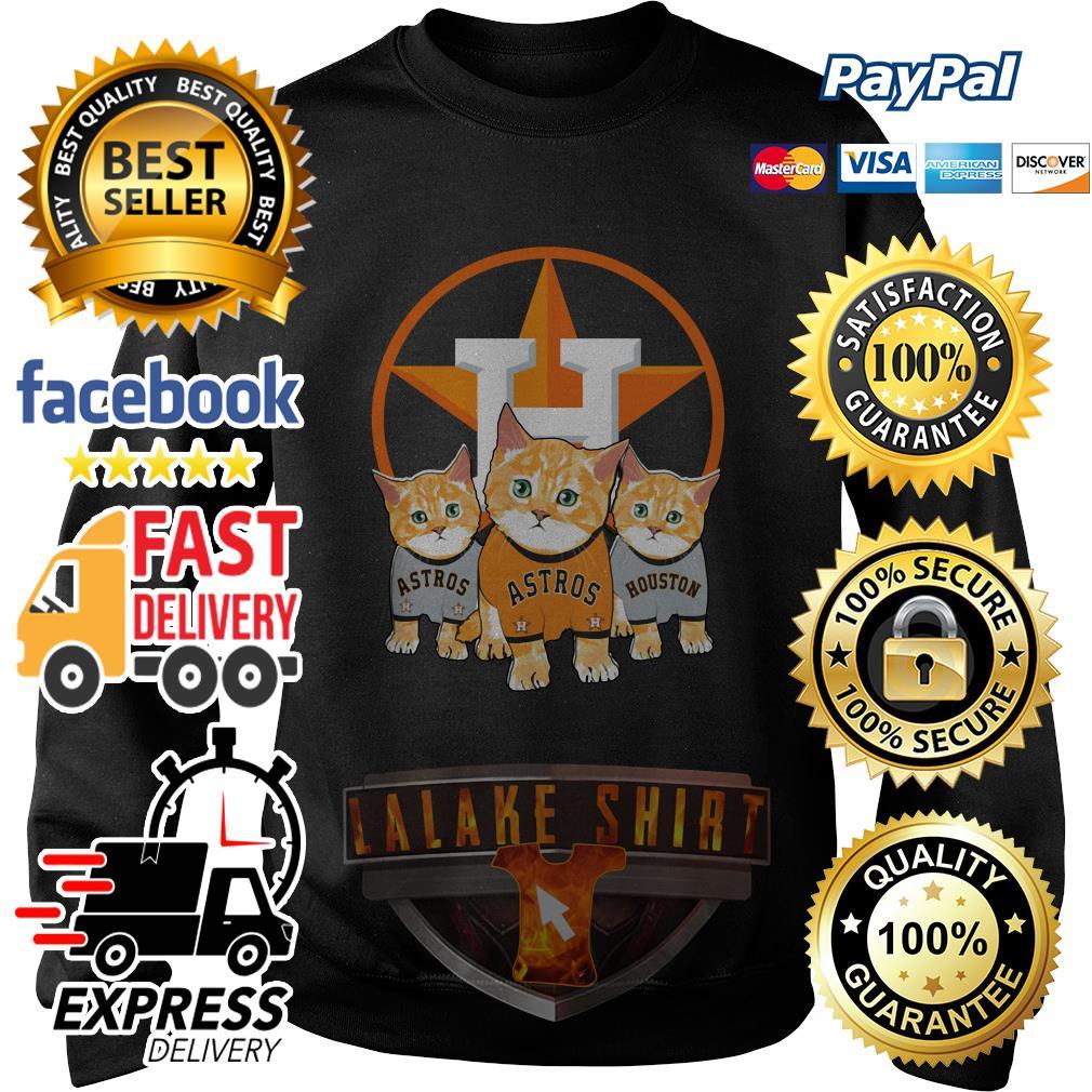 Cat Houston Astros sweater