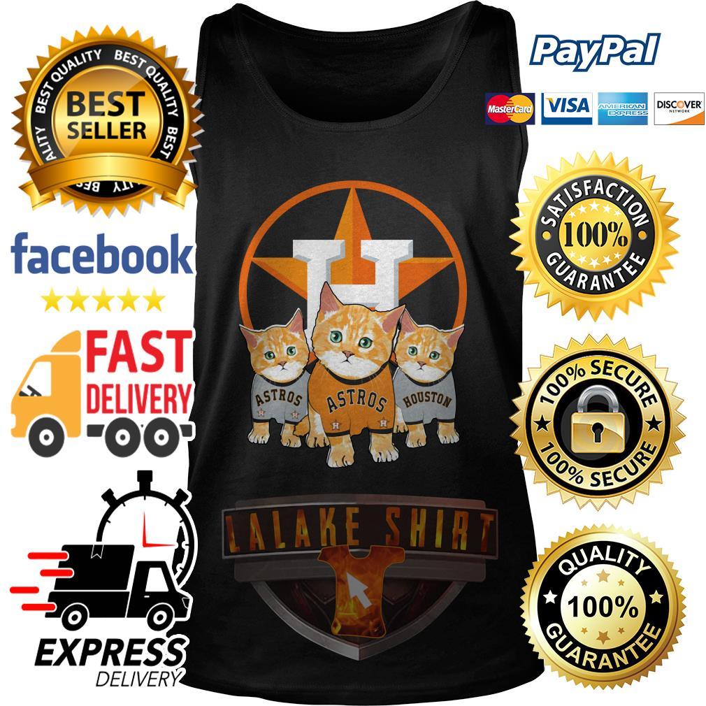 Cat Houston Astros tank top