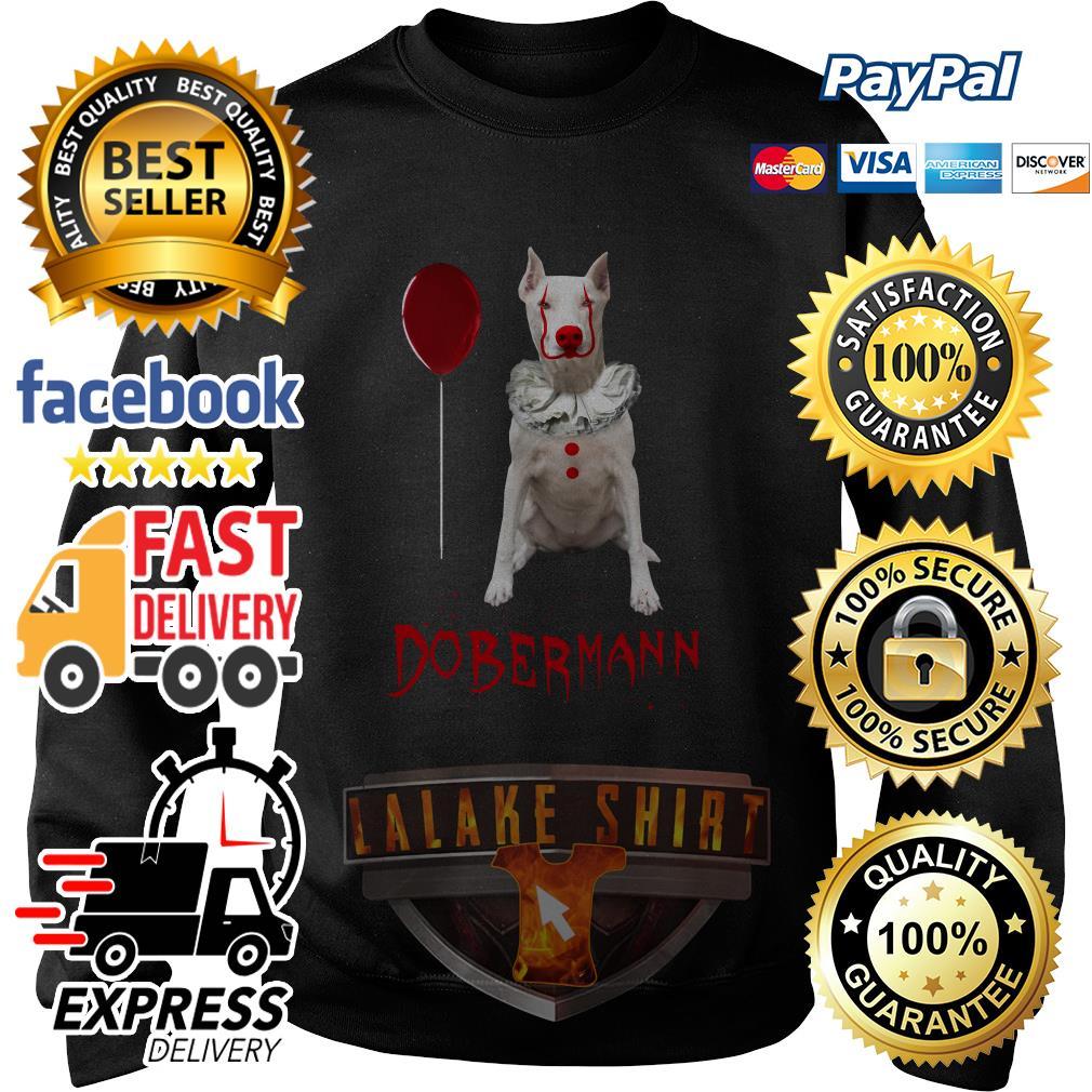 Dobermann Pennywise Halloween shirt