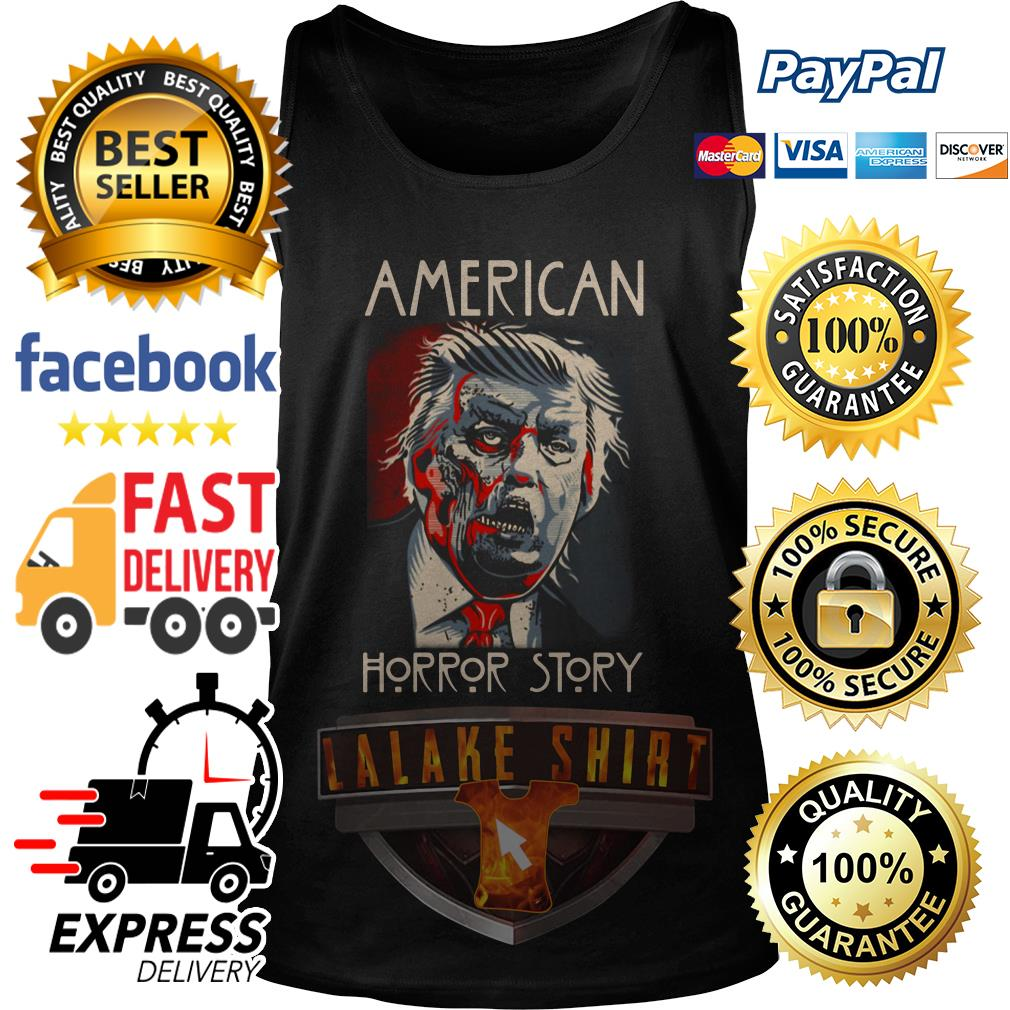 Donald Trump American horror story tank top
