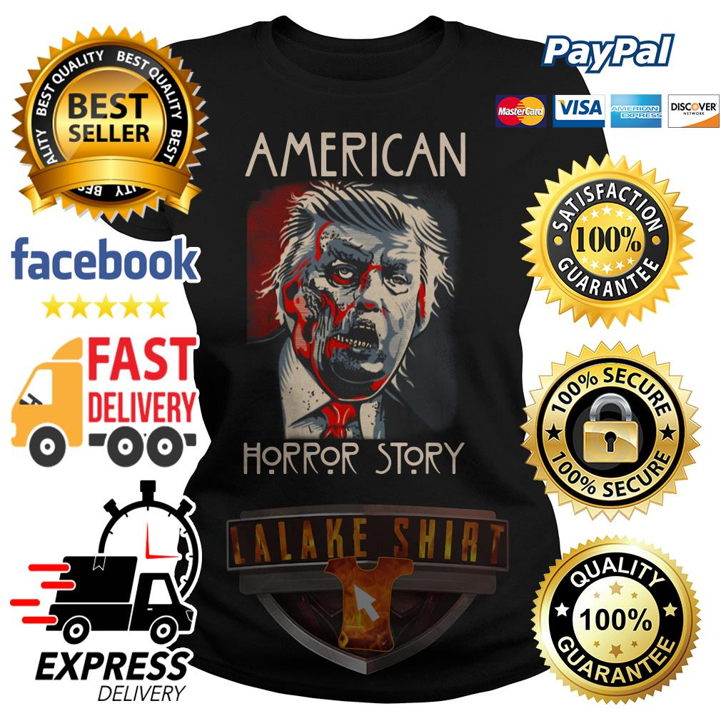 Donald Trump American horror story ladies tee