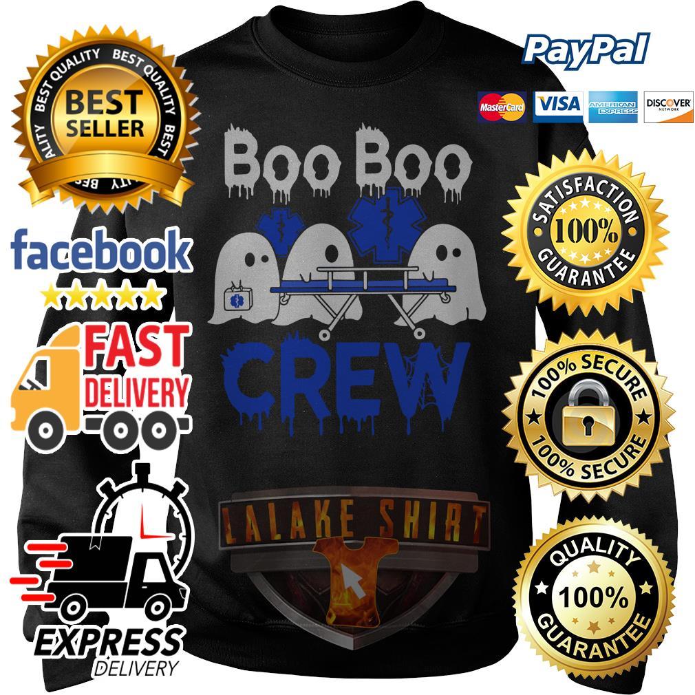 Ghost nurse boo boo crew Sweater