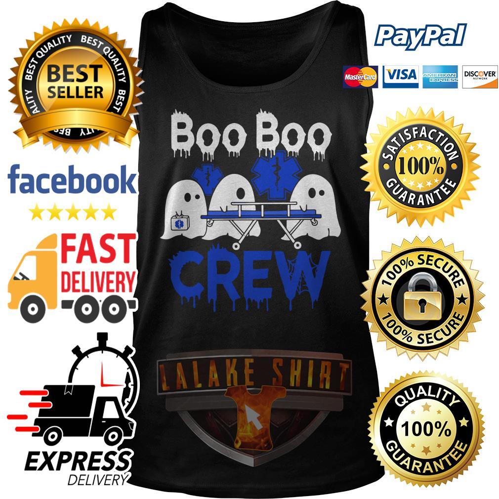 Ghost nurse boo boo crew Tank Top