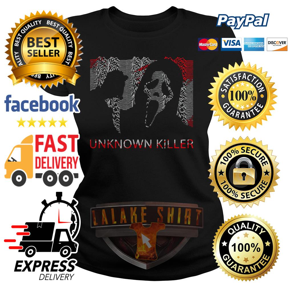 Ghostface unknown killer Halloween ladies tee