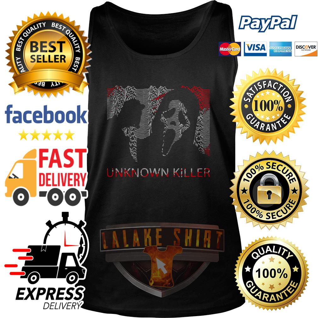 Ghostface unknown killer Halloween tank top