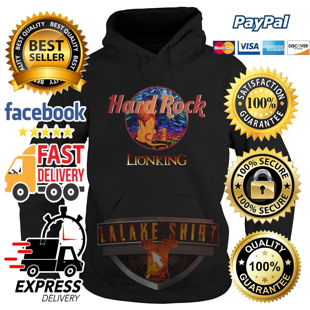 Hard Rock cafe The Lion King hoodie