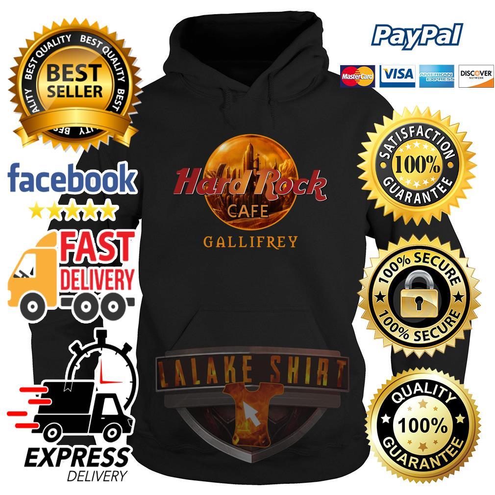 Hard rock cafe Gallifrey hoodie