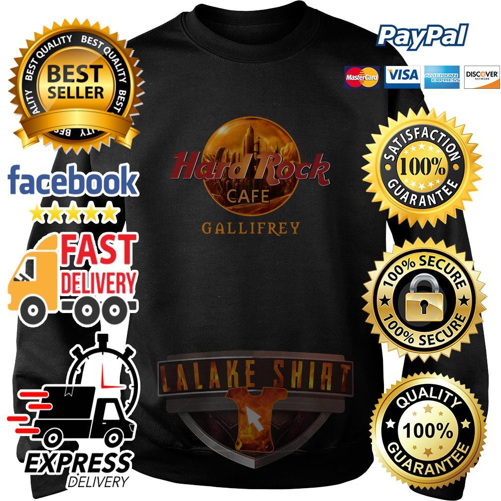 Hard rock cafe Gallifrey sweater