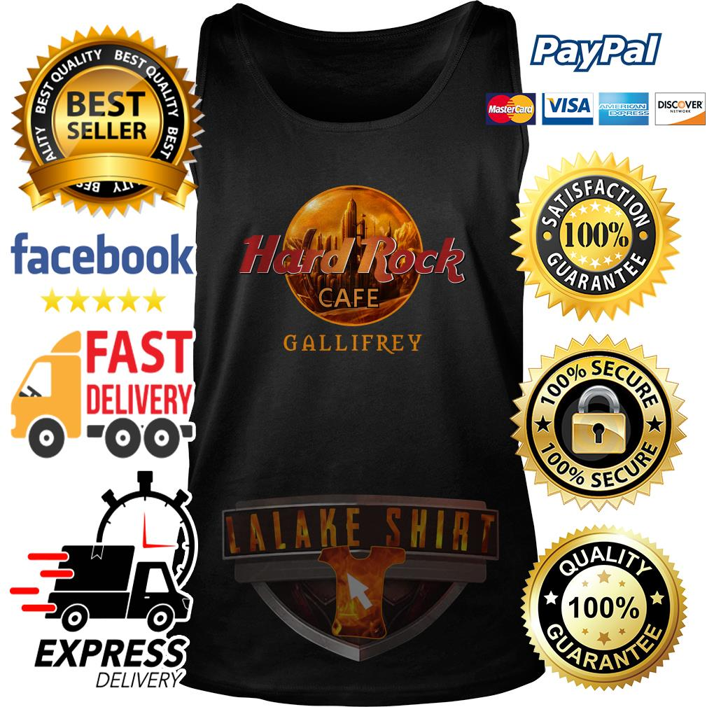 Hard rock cafe Gallifrey tank top