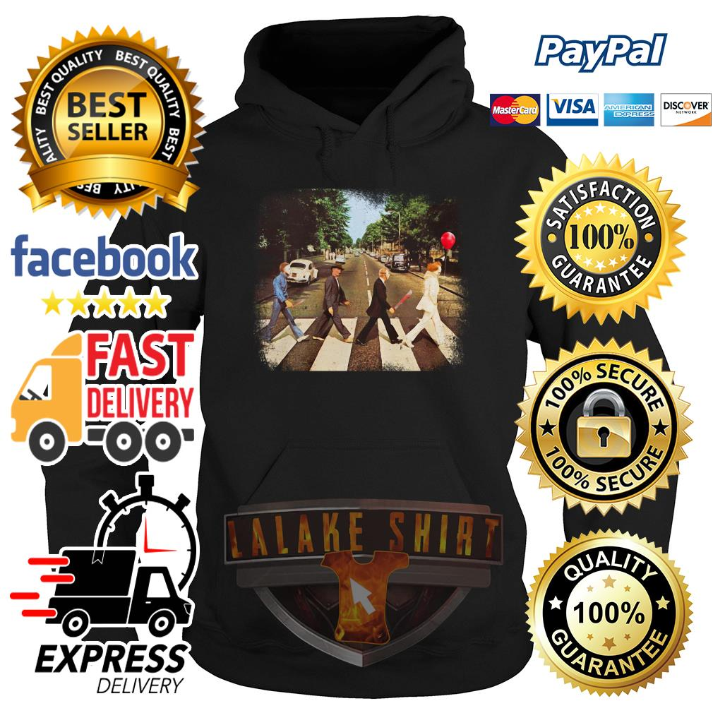 Horror Character movie abbey road hoodie