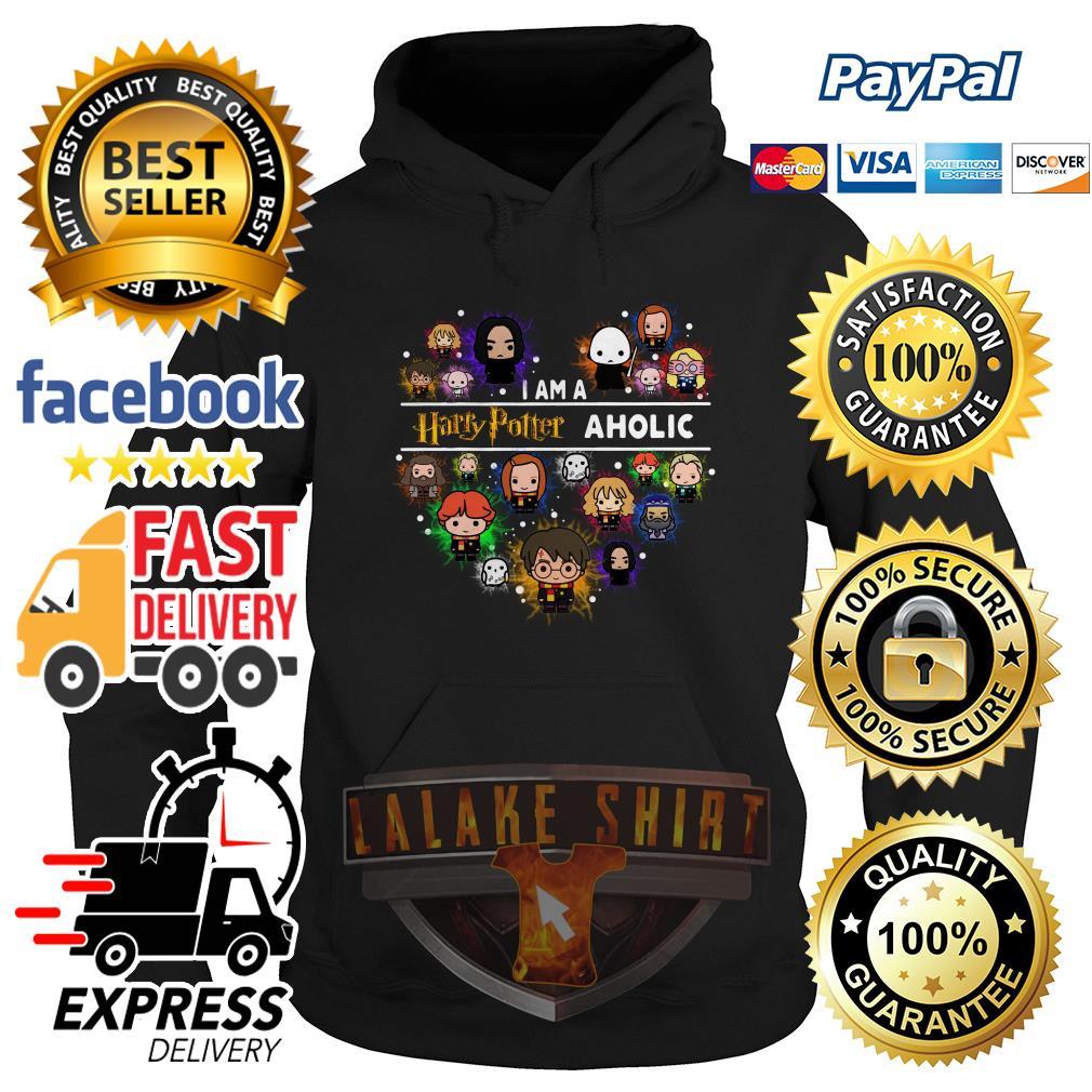 I am a Harry Potter aholic chibi hoodie