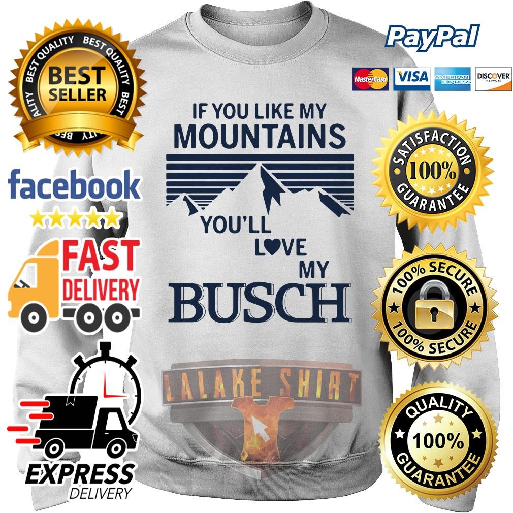 If you like my mountains you'll love Busch sweater