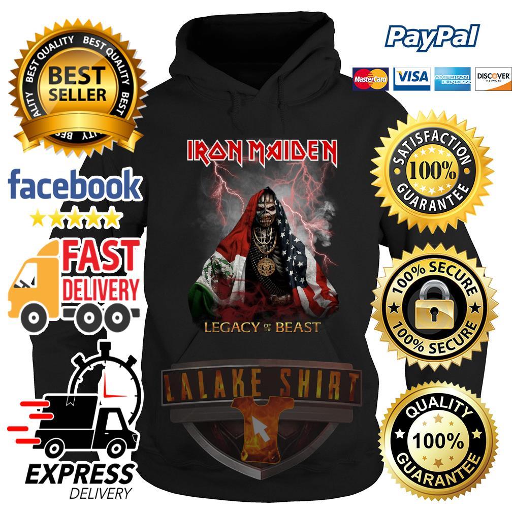 Iron Maiden Legacy of the Beast Veteran Hoodie