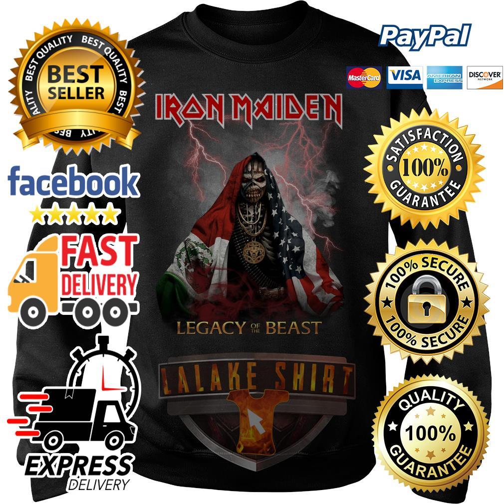 Iron Maiden Legacy of the Beast Veteran Sweater