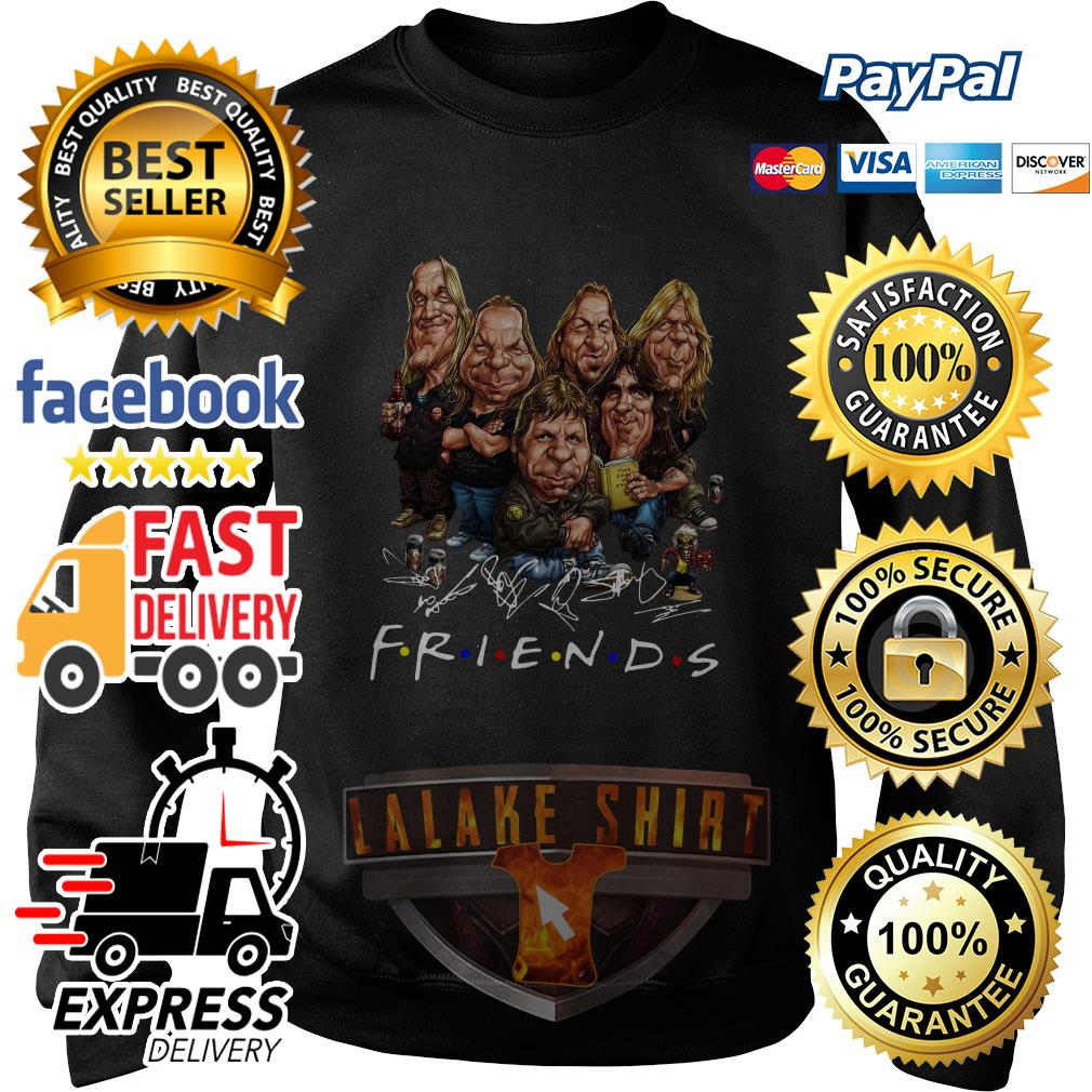 Iron Maiden cartoon friends tv show signature sweater