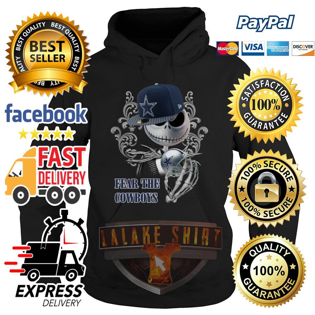 Jack Skellington fear the Dallas Cowboys hoodie