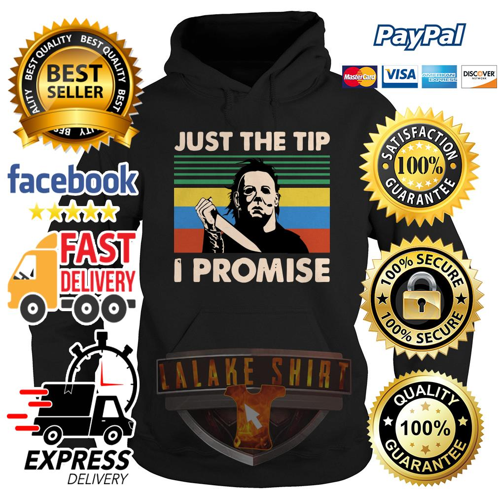 aJason Voorhees just the tip I promise vintage hoodie