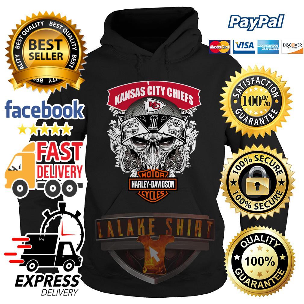 Kansas City Chiefs Motor Harley Davidson Cycles hoodie