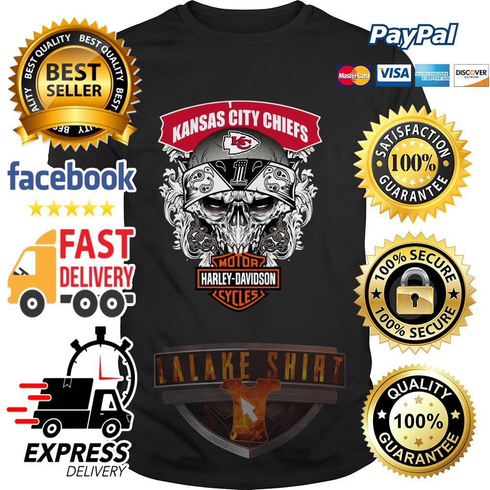 Kansas City Chiefs Motor Harley Davidson Cycles shirt