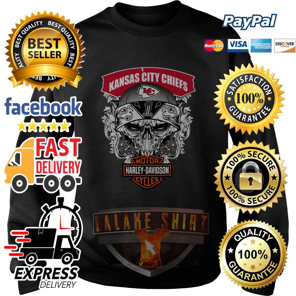 Kansas City Chiefs Motor Harley Davidson Cycles sweater