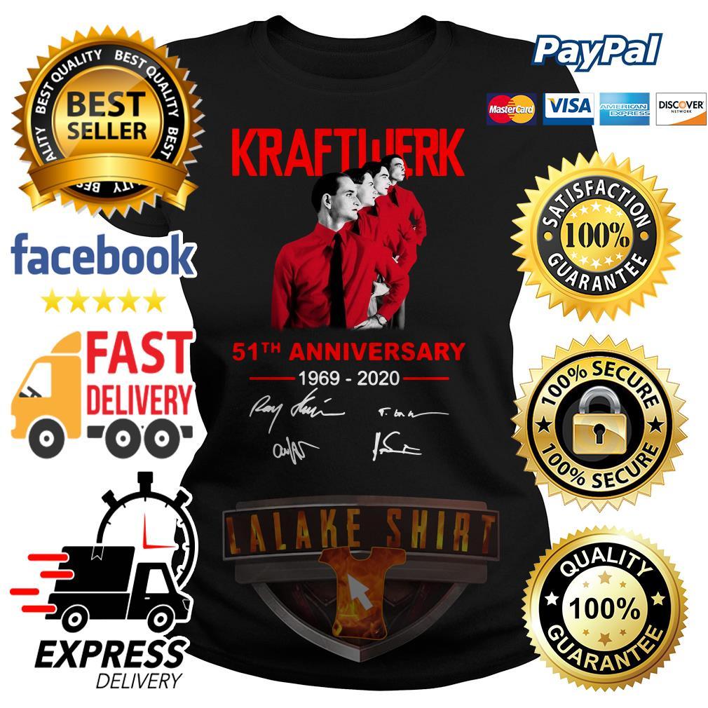 Kraftwerk 51th anniversary 1969 2020 signature ladies tee