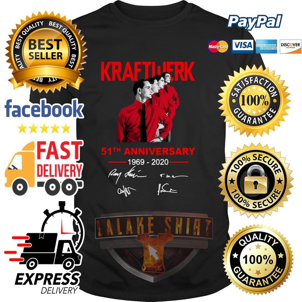 Kraftwerk 51th anniversary 1969 2020 signature shirt