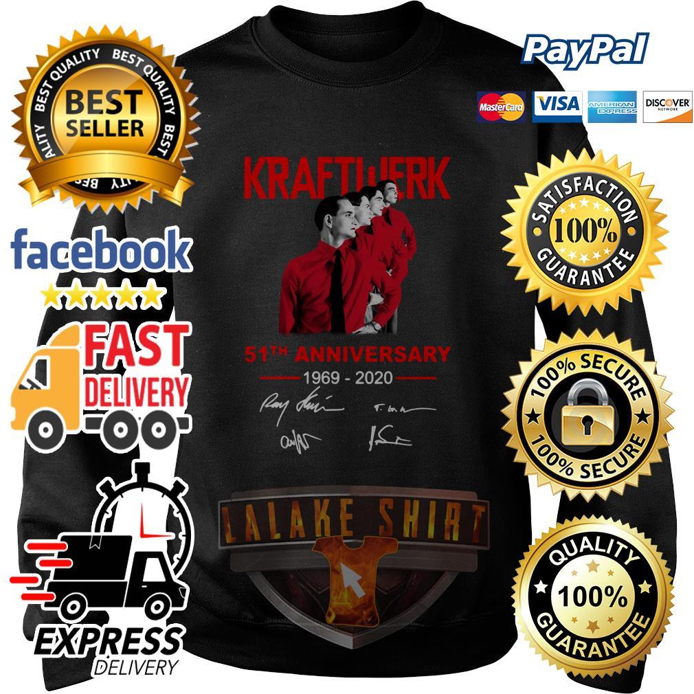 Kraftwerk 51th anniversary 1969 2020 signature sweater
