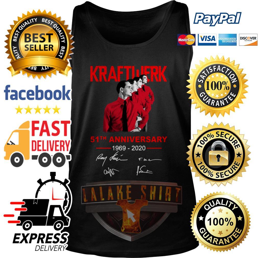 Kraftwerk 51th anniversary 1969 2020 signature tank top
