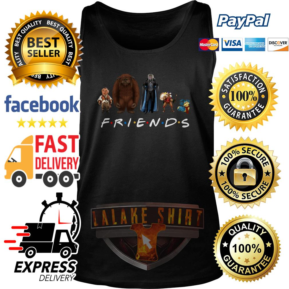 Labyrinth characters Friends tv show tank top
