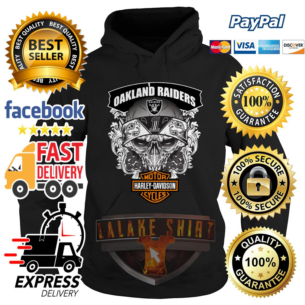 Oakland Raiders Motor Harley Davidson cycles Oakland Raiders Motor Harley Davidson cycles hoodie