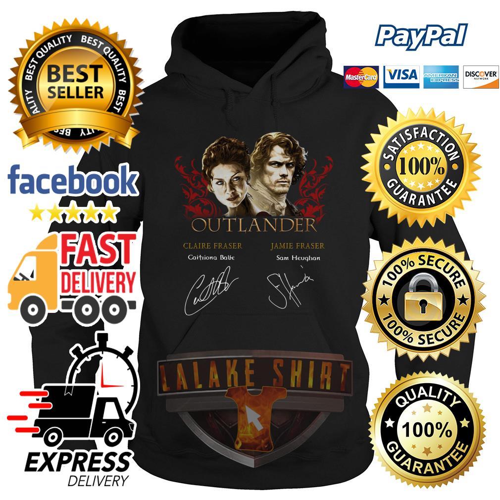 Outlander signature of Claire Fraser Jamie Fraser hoodie